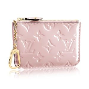 Louis Vuitton Vernis Key Pouch Rose Ballerine